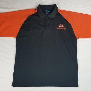 NCAA Oregon State Beavers Black Orange Polo Shirt